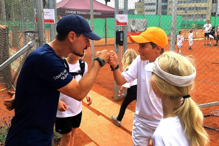 Billede til Tennistræning for børn