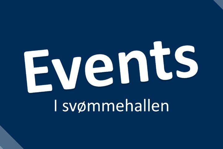 Billede til Events i svømmehallen