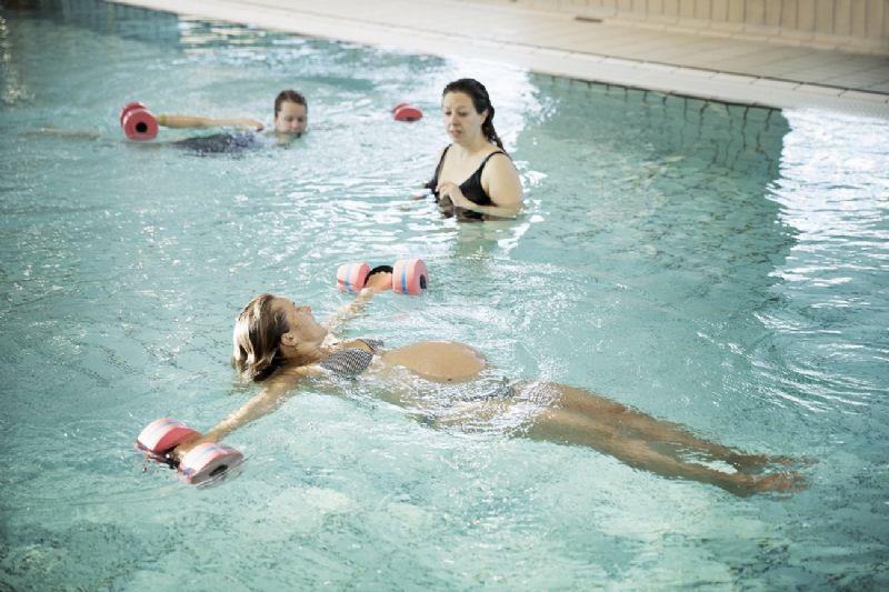 Billede til Træning i vand for gravide