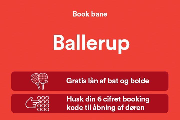 Billede til Banebooking Ballerup