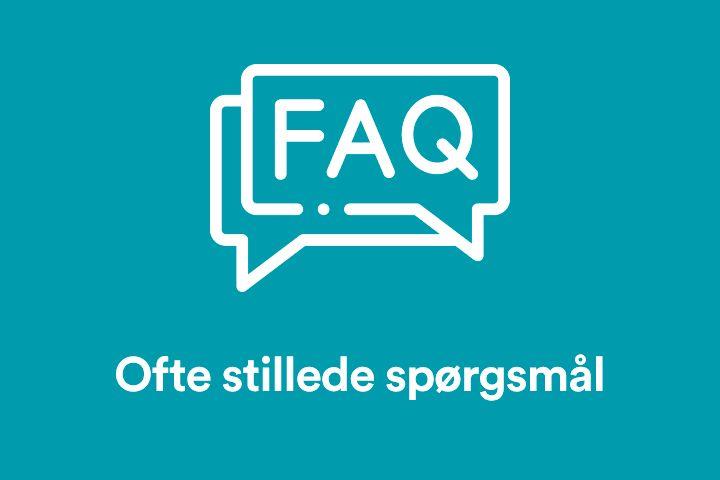 Billede til FAQ - ofte stillede spørgsmål
