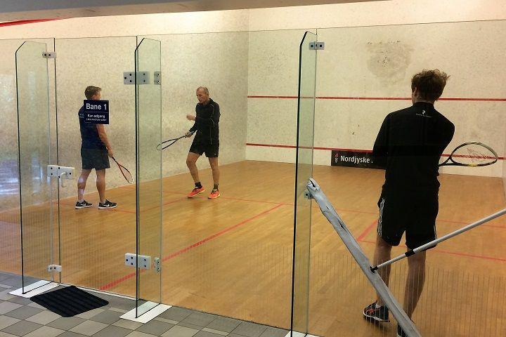 Billede til Squash træningstilbud